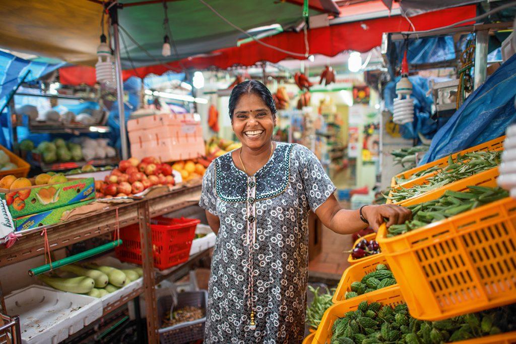 Shoppen in Katong