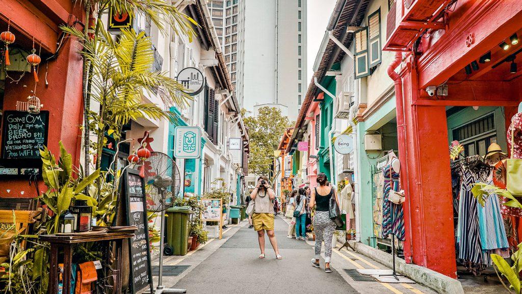Tourist in Singapur