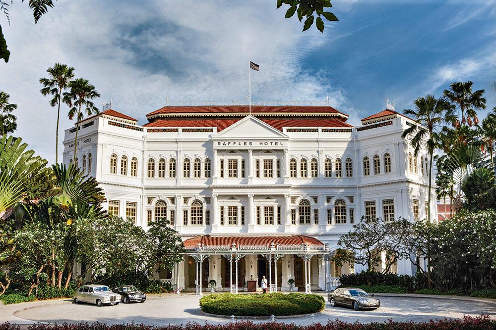 Das legendäre Raffles Hotel