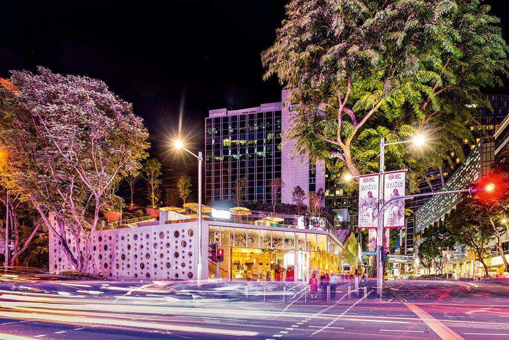 """Die neue Adresse für Design aus Singapur: das """"Design Orchard"""" in der Orchard Road Stoff niedergelassen"""