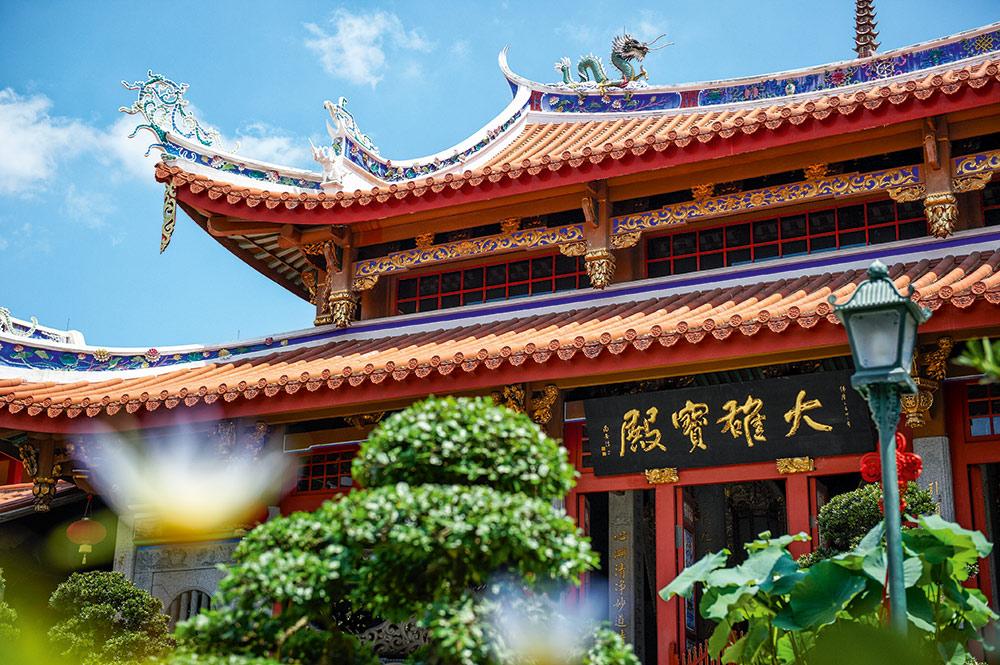 Kloster Lian Shan Shuang Lin