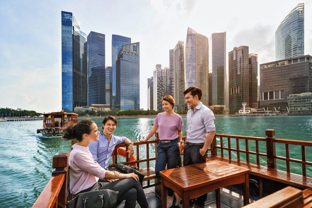 Menschen Singapur
