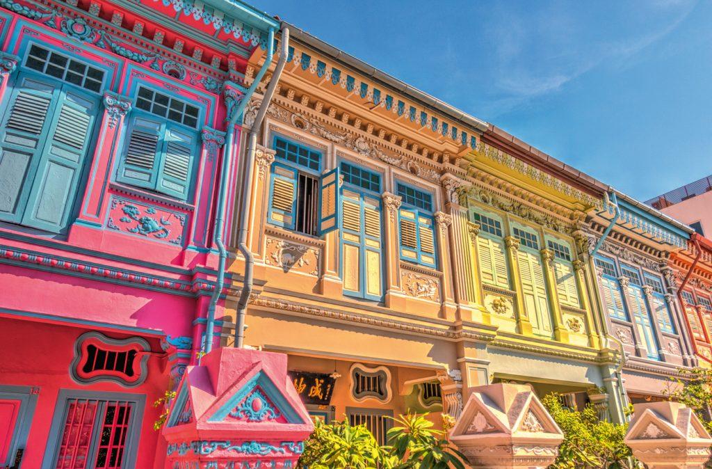 Peranakan-Shophouses in Katong